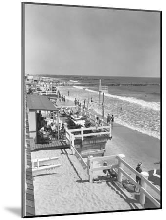 Seashore and Beach-George Marks-Mounted Photographic Print