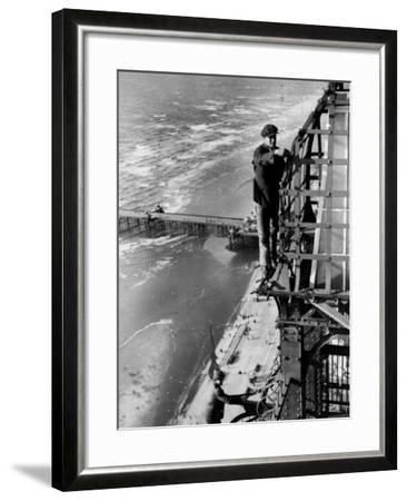 Blackpool Lights--Framed Photographic Print