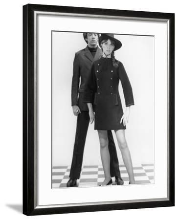 Mod Couple-George Marks-Framed Photographic Print