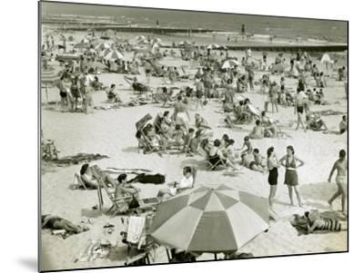 Bathers at the Beach-George Marks-Mounted Photographic Print