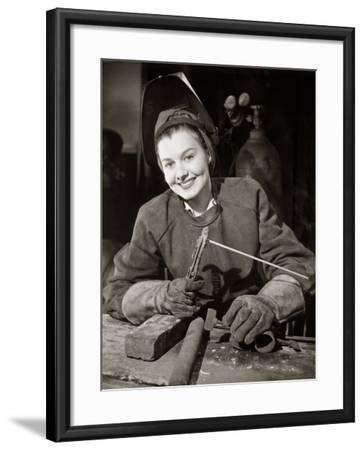 Welder-George Marks-Framed Photographic Print
