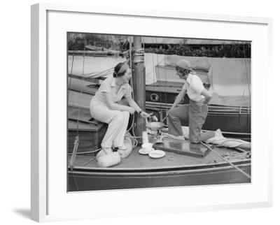 Hearty Breakfast--Framed Photographic Print