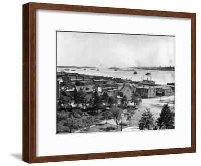 Halifax Harbour--Framed Photographic Print