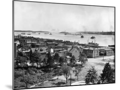 Halifax Harbour--Mounted Photographic Print
