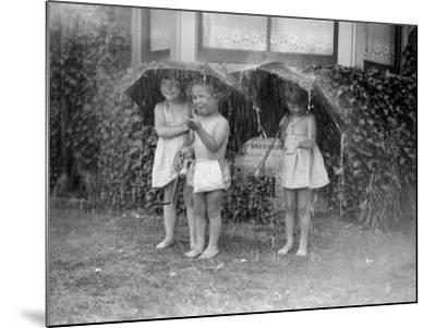 Summer Shower--Mounted Photographic Print