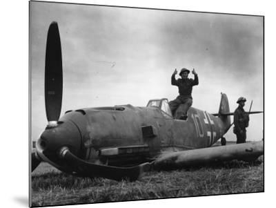 Guarding Plane--Mounted Photographic Print