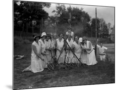 Tennis Ladies--Mounted Photographic Print