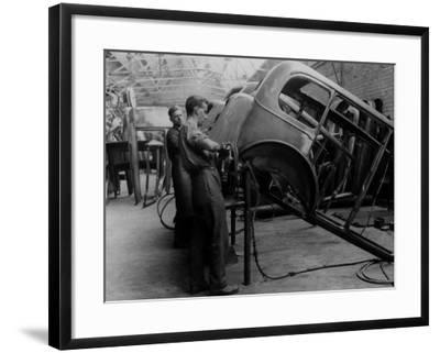 Body Building--Framed Photographic Print