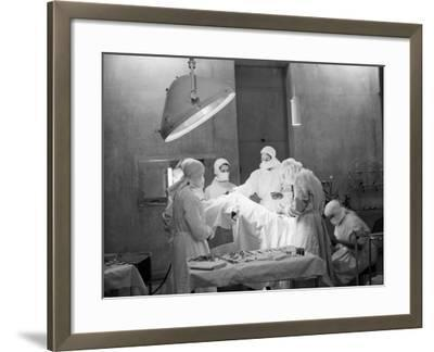 Student Nurses--Framed Photographic Print