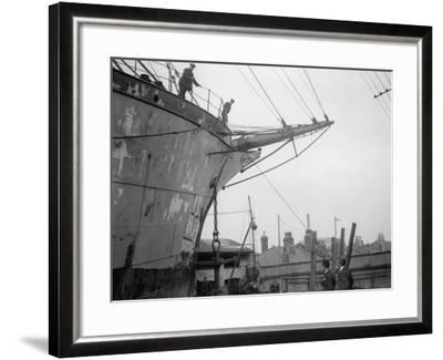 Merchant Ship--Framed Photographic Print