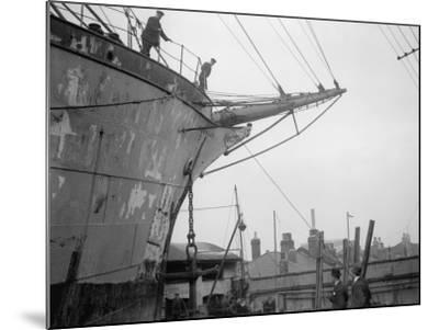 Merchant Ship--Mounted Photographic Print