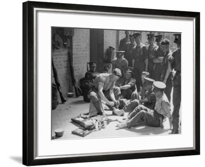 Blister Parade--Framed Photographic Print