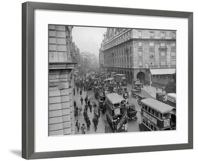 London Traffic--Framed Photographic Print