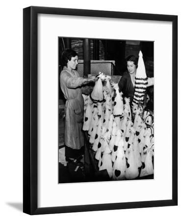 Carnival Hats--Framed Photographic Print