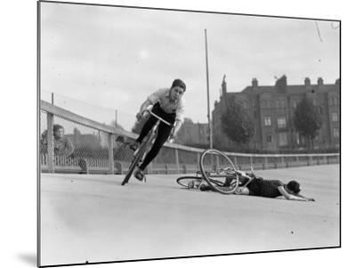Bike Accident--Mounted Photographic Print