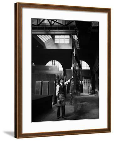 Glass Factory--Framed Photographic Print