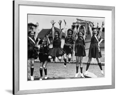 School Warcry--Framed Photographic Print