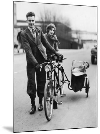 Family Cycle--Mounted Photographic Print