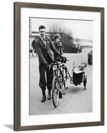 Family Cycle--Framed Photographic Print