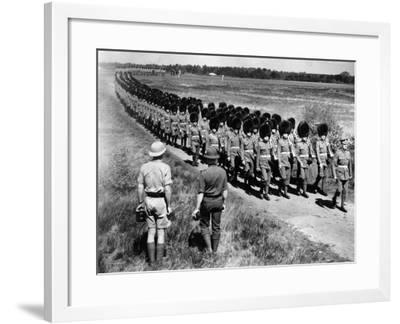 Scots Guards--Framed Photographic Print