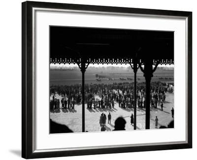 Gatwick Races--Framed Photographic Print