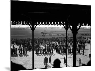 Gatwick Races--Mounted Photographic Print