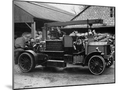 Old Fire Engine--Mounted Photographic Print