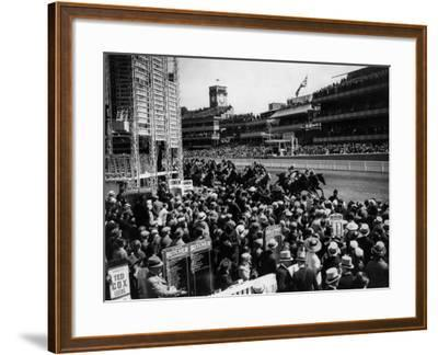 Ascot Races--Framed Photographic Print