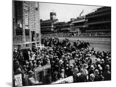 Ascot Races--Mounted Photographic Print
