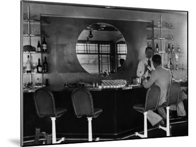 Airport Bar--Mounted Photographic Print