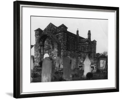 Graveyard--Framed Photographic Print
