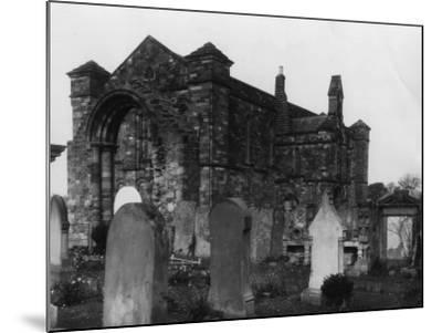 Graveyard--Mounted Photographic Print