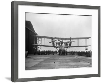 Flying-Boat--Framed Photographic Print