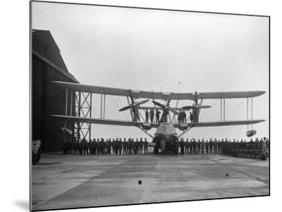 Flying-Boat--Mounted Photographic Print