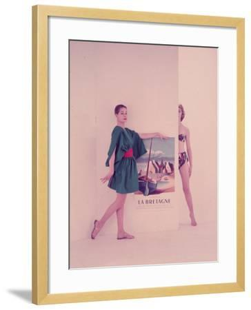 Come To Brittany-Chaloner Woods-Framed Photographic Print