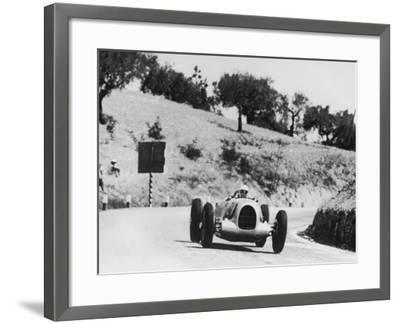 Auto Racing--Framed Photographic Print