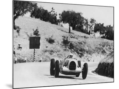 Auto Racing--Mounted Photographic Print
