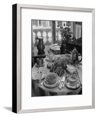 Breakfast Table-Chaloner Woods-Framed Photographic Print