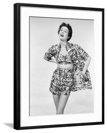 Fun Summer Fashion-Chaloner Woods-Framed Photographic Print