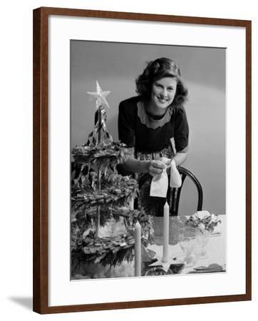 Christmas Dinner-Chaloner Woods-Framed Photographic Print
