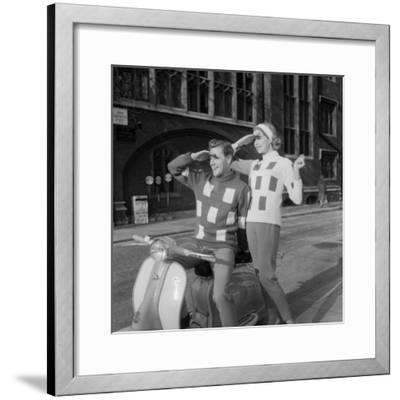 Scooter Fashion-Chaloner Woods-Framed Photographic Print
