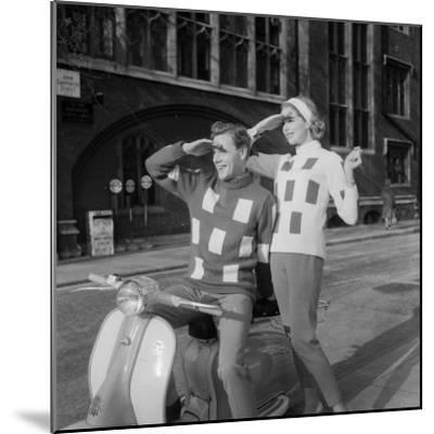 Scooter Fashion-Chaloner Woods-Mounted Photographic Print
