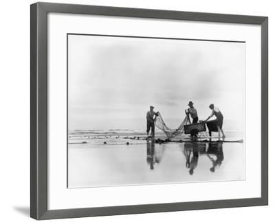 Fishing Nets-Chaloner Woods-Framed Photographic Print