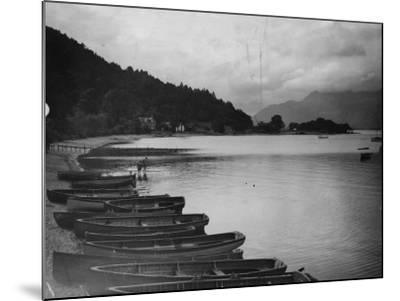 Loch Lomond--Mounted Photographic Print