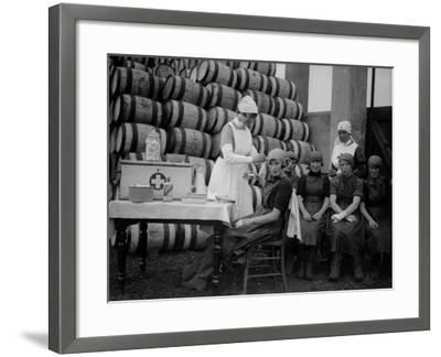 Medical Aid--Framed Photographic Print