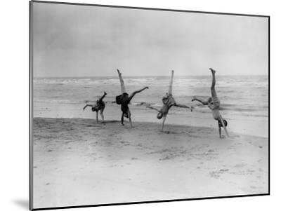 Cartwheels--Mounted Photographic Print