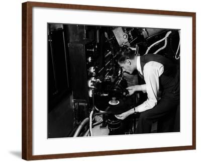 Film Music--Framed Photographic Print