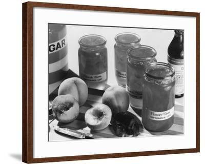 Peach Preserves-Chaloner Woods-Framed Photographic Print