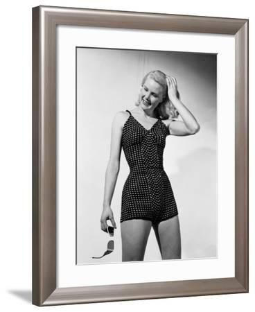 Bathing Suit-Chaloner Woods-Framed Photographic Print