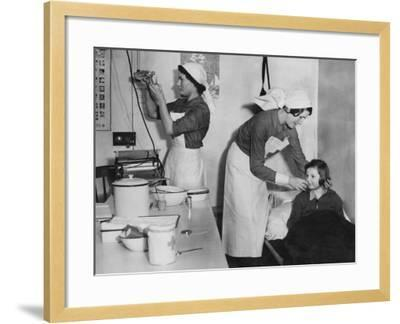 British Red Cross--Framed Photographic Print